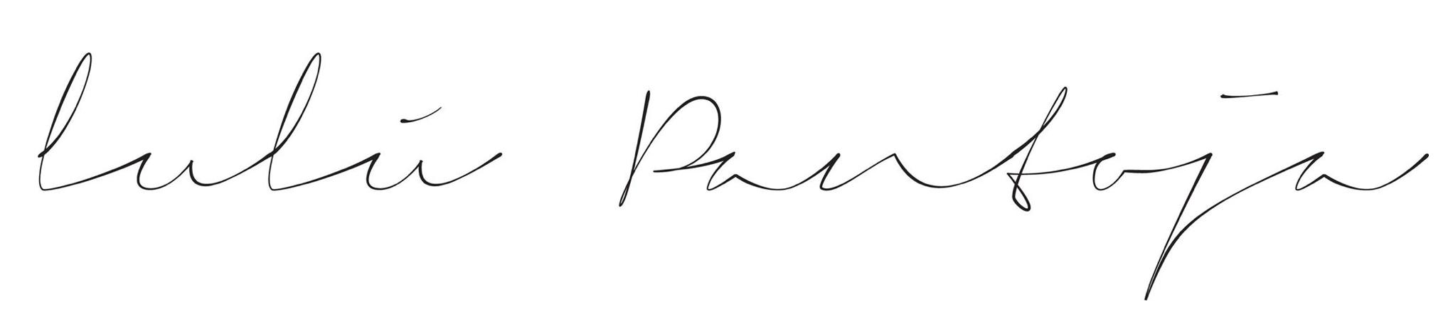 LULÚ PANTOJA | Blog